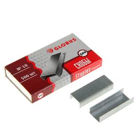 Скобы для степлера GLOBUS, 500 шт., №10, высококачественная сталь Ош