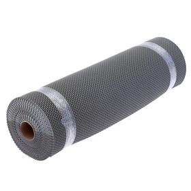 Покрытие ковровое против скольжения «Зиг-Заг Твист», 0,9×10 м, h=4,5 мм, цвет серый