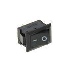 Выключатель клавишный REXANT RWB-201, 250 В, 6А (2с), ON-OFF, Mini, черный