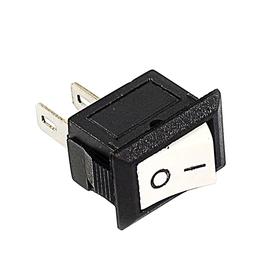 Выключатель клавишный REXANT RWB-101, 250 В, 3А (2с), ON-OFF, Micro, белый Ош