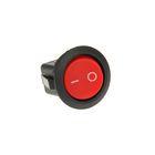 Выключатель клавишный REXANT RWB-213, 6А (2с), 250 В, ON-OFF, круглый, красный