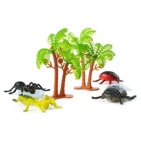 Набор животных «Насекомые», 12 фигурок с аксессуарами Ош