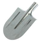 Лопата штыковая, острая, оцинкованная сталь, тулейка 32 мм, без черенка