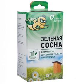 Биоактиватор для дачных туалетов и биотуалетов Зелёная сосна, 300 гр, Ош
