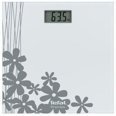 Весы напольные Tefal PP1070VO, электронные, до 150 кг, серые - Фото 1