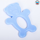 Прорезыватель силиконовый «Мишка», цвета МИКС