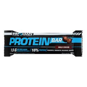 Батончик Protein Bar с коллагеном, кокос, тёмная глазурь, 50 г