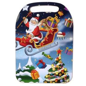 Доска разделочная «Дед Мороз с санями», Новый год 2020, 30×21×1 см