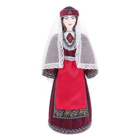 Сувенирная кукла 'Девушка в традиционном армянском костюме кон.19-нач. 20 вв.' Ош