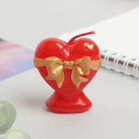 Свеча формовая «Сердце», 5 см Ош