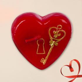 Свеча формовая «Ключ от сердца», 5 см Ош