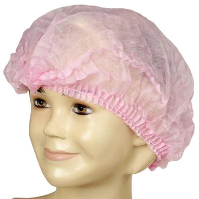 Медицинская шапочка Шарлотта Elegreen, розовая, 10 г/м2 - Фото 1