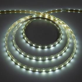 Светодиодная лента 220В,SMD5050, 100 м, IP68, 60 LED, 16-18 Лм/LED, AC, БЕЛЫЙ