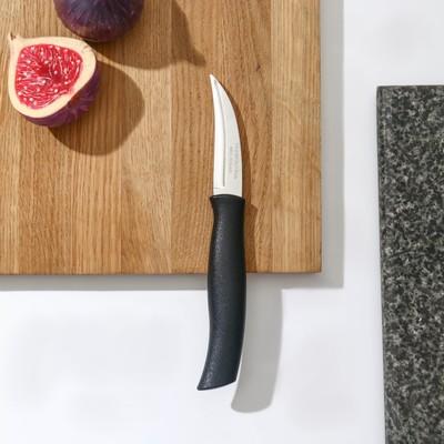 Нож кухонный для овощей Athus, лезвие 7,5 см, сталь AISI 420 - Фото 1