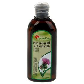 Шампунь Apotek`s репейный с комплексом витаминов для укрепления волос, 250 мл