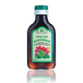 Репейное масло Mirrolla с касторовым маслом и витаминами, 100мл