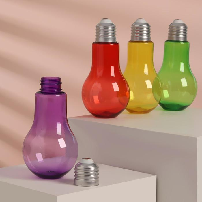 Бутылочка для хранения «Лампочка», 150 мл, цвет МИКС
