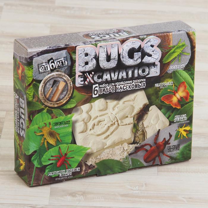 """Набор для проведения раскопок серия """"BUGS EXCAVATION""""  жуки BEX-01-03 BEX-01-03"""