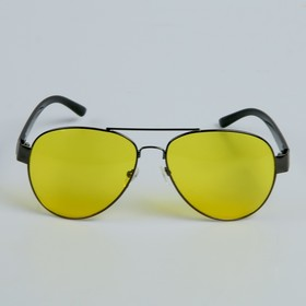 Очки солнцезащитные водительские'Мастер К.', 4 х 14 см Ош