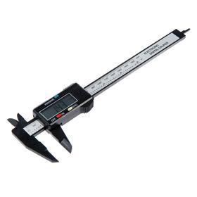 Штангенциркуль электронный LOM, 150 мм, цена деления 0.1 мм, с глубинометром Ош