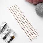 Спицы для вязания, чулочные, d = 2 мм, 25 см, 5 шт - Фото 2
