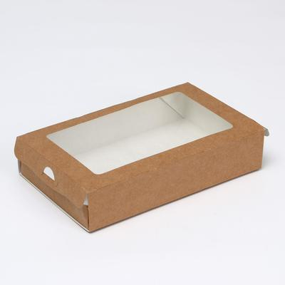 Упаковка для продуктов, пенал 20 х 12 х 4 см, 1 л - Фото 1