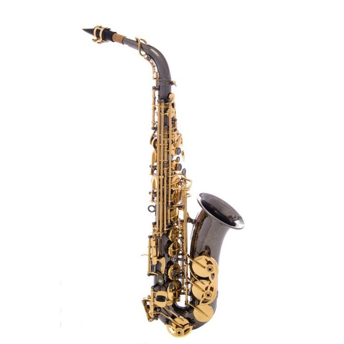 Саксофон-альт John Packer JP045B  Eb, черный/золото