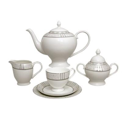 Сервиз чайный «Шенонсо», 21 предмет на 6 персон - Фото 1