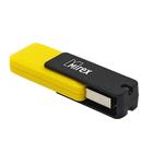 Флешка USB2.0 Mirex CITY YELLOW, 4 Гб, чт до 25 Мб/с, зап до 15 Мб/с, желтая