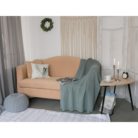 Чехол для мягкой мебели Collorista,3-х местный диван,наволочка 40*40 см в ПОДАРОК,бежевый Ош