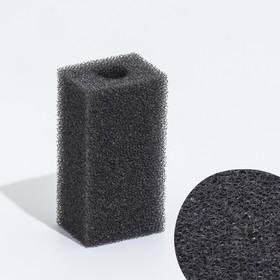 Губка прямоугольная для фильтра турбо, 3х3,5х7 см Ош