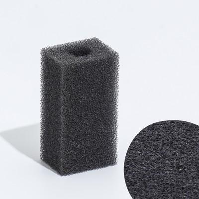 Губка прямоугольная для фильтра турбо, 3х3,5х7 см - Фото 1