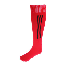 Гетры футбольные, размер 37-40, цвет красный Ош