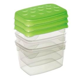 Набор: мини-контейнеры 3 пр., 80 мл, 7 х 5 х 5 см