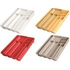 Лоток для столовых приборов, 9 секций, 40 х 30 х 6,5 см, цвет МИКС
