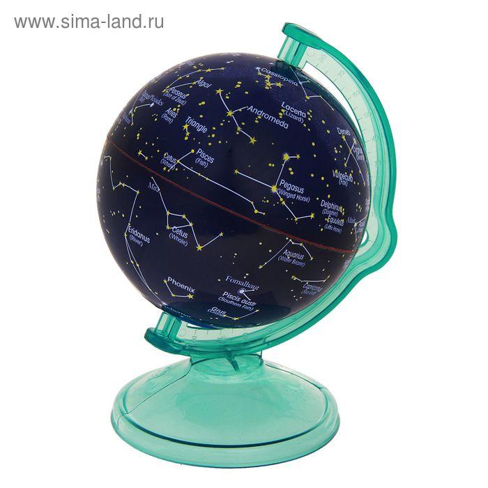 Глобус сувенирный на подставке, карта созвездий + копилка, англ., язык