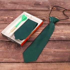 Подарочный набор: детский галстук и ручка-дротик 'Самому ловкому' Ош