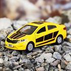 Машина металлическая Kia Rio, открываются двери, багажник, инерция, 12 см, МИКС - Фото 1