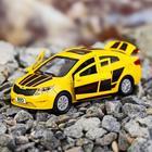 Машина металлическая Kia Rio, открываются двери, багажник, инерция, 12 см, МИКС - Фото 2