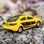 Машина металлическая Kia Rio, открываются двери, багажник, инерция, 12 см, МИКС - Фото 3
