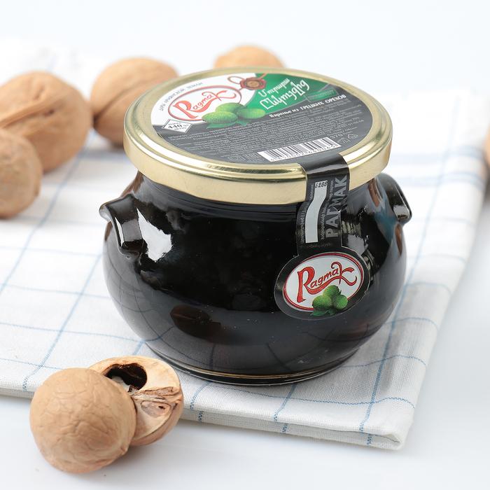 Варенье из грецких орехов ТМ Ragmak, 440 г