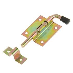 Задвижка дверная ЗД 009, 95 мм, оцинкованная Ош