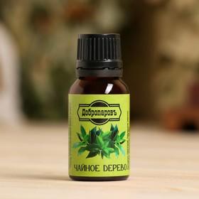 Эфирное масло 'Чайное дерево', флакон-капельница, 17 мл, дезинфицирующее, 'Добропаровъ' Ош