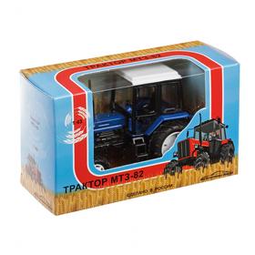 Трактор МТЗ-82, масштаб 1:43