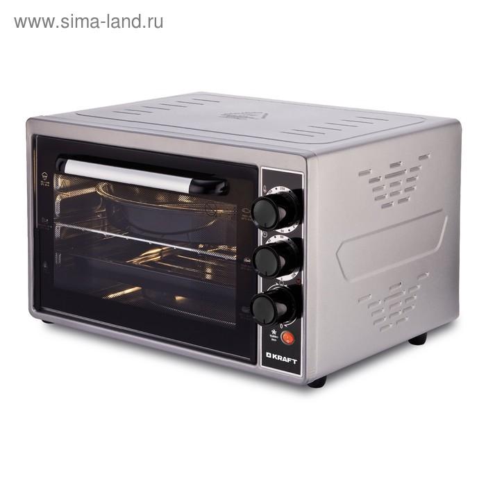 Мини-печь Kraft KF-MO 3803 KGR серая
