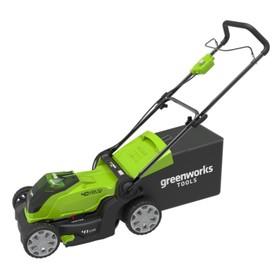 Газонокосилка GreenWorks 2504707, аккум., 40 В, ширина скоса 40 см, БЕЗ АКК И ЗУ
