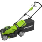 Газонокосилка GreenWorks 2504707VB, аккум., 40 В, 4 Ач Li-Ion, ширина 40 см, 40 л