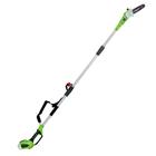 Кусторез GreenWorks G40PS20, 40В, высотный, шина 40 см, штанга 240 см, БЕЗ АКК. И ЗУ