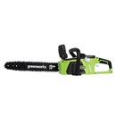 "Пила цепная GreenWorks GD40CS40, 40В, 15"", 3/8"", 56 зв., БЕЗ АКК. И ЗУ"