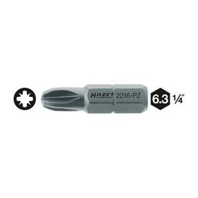 """Насадка (бита) HAZET 2216-PZ1, для винтов с крестовым шлицем PZ, 1/4"""""""